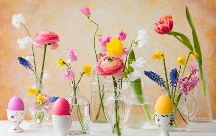 Decorare la casa per la Pasqua