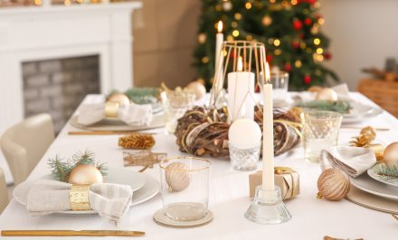 Come addobbare la tavola di Natale