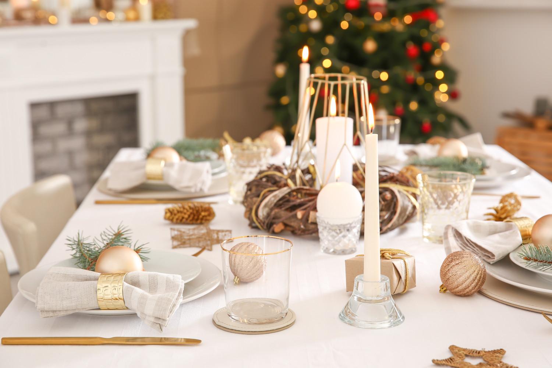 Arredare Tavola Natale come addobbare la tavola per il pranzo di natale 2019