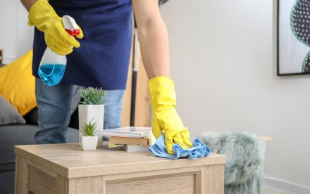 Come pulire e disinfettare la casa