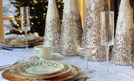 decorare la tavola a capodanno