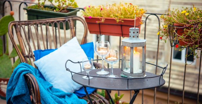 Idee per vivere il balcone o il terrazzo anche in inverno